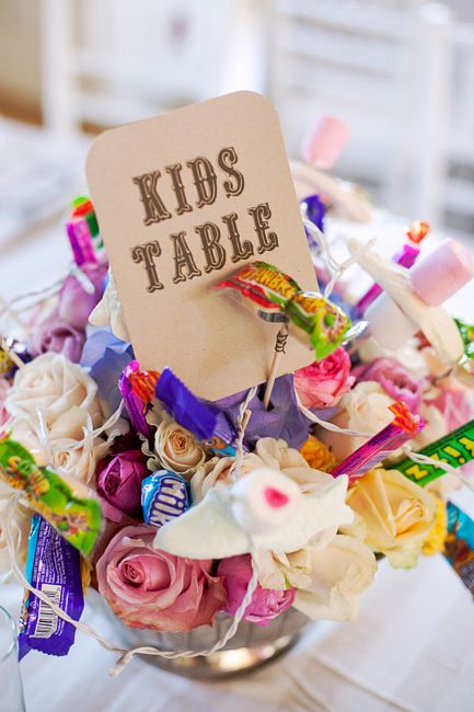 Kids table centre-piece