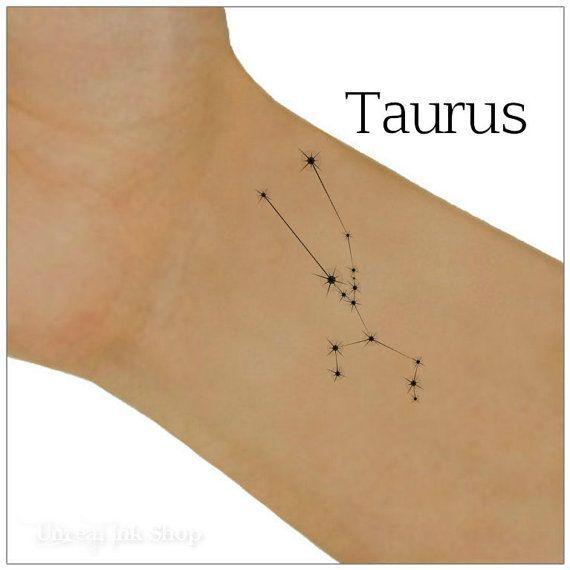 Resultado de imagen de tatuaje constelacion tauro