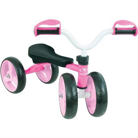 HUDORA Rutscher 4 Wheely, pink 10346 bei baby-markt.ch - Ab 80 CHF versandkostenfrei ✓ Schnelle Lieferung ✓ Jetzt bequem online kaufen!