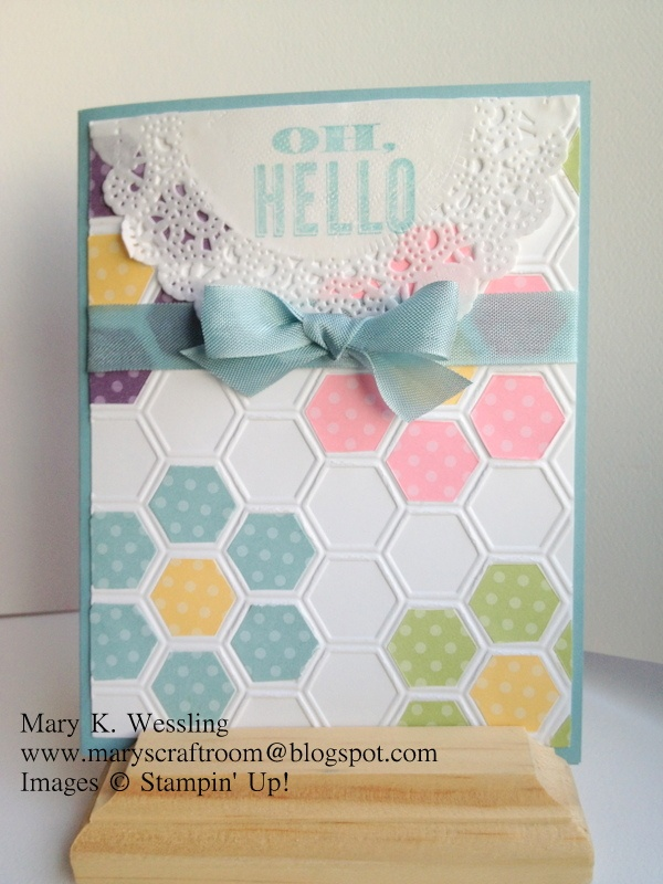 Stamping ideas quilt cards 10 handpicked ideas to for Stampin pretty craft room