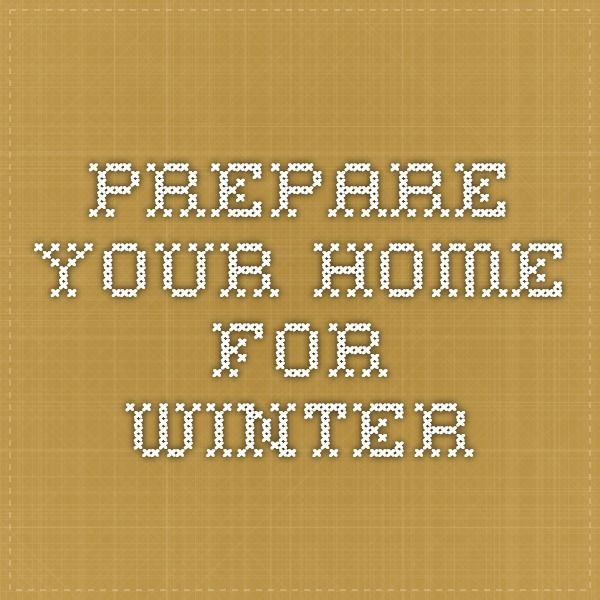 how to prepare your home for fall and winter