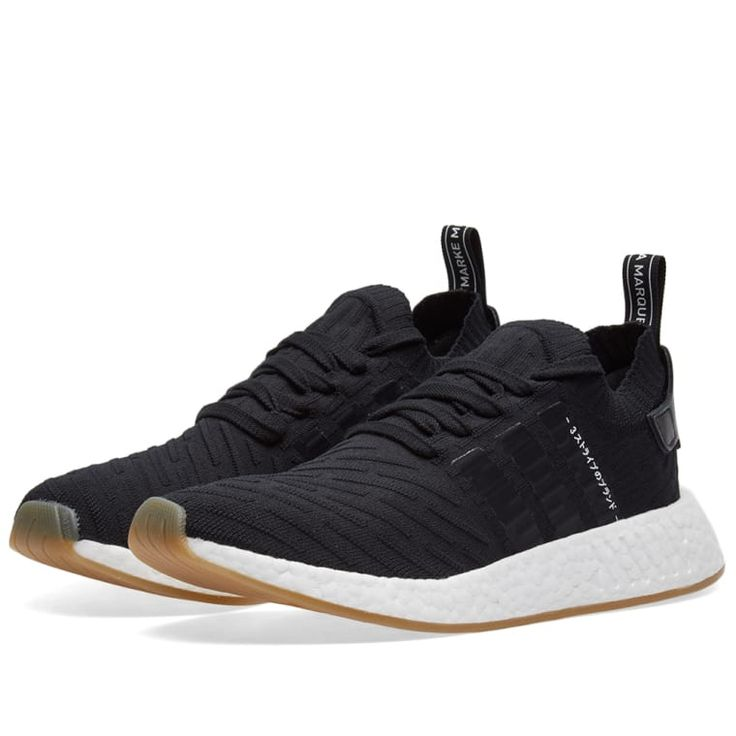 Fusing progressive design with the cult status of the NMD sneaker, adidas release this iteration of the NMD R2. Boasting luxury Primeknit uppers; the famous three-stripes have been engineered to the sidewalls, while NMD branding decorates the heel pull. Laced for a secure fit, the iconic silhouette sits upon a contrasting sole unit, infused with boost™ cushioning and moulded EVA midsole plugs for a comfortable fit and signature NMD aesthetic. Primeknit Uppers boost™ Cushioning Technology…