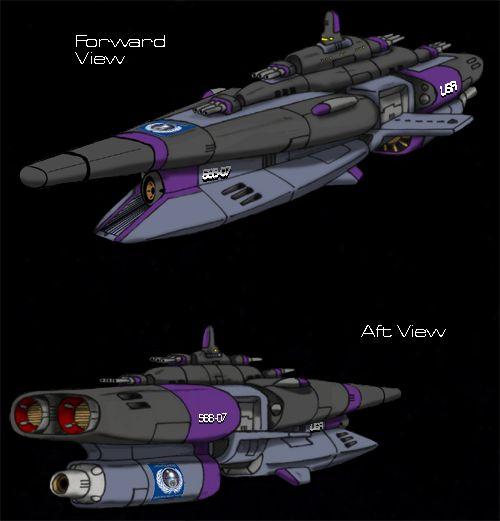 Blazers Hull: Blueprints For An Entirely New Space Navy Consisting Of