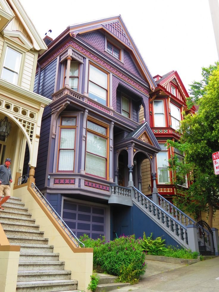 17 best images about california san fran 60 39 s 70 39 s for San francisco victorian houses