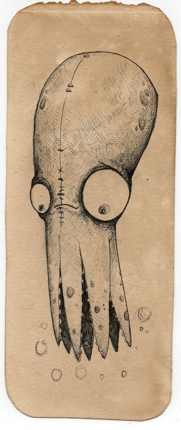 Erving: the Octopus by UMINGA.deviantart.com on @deviantART