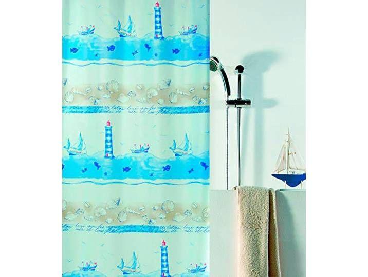 Spirella Spirella Duschvorhang Nave 180x200 Cm Wasserabweisend