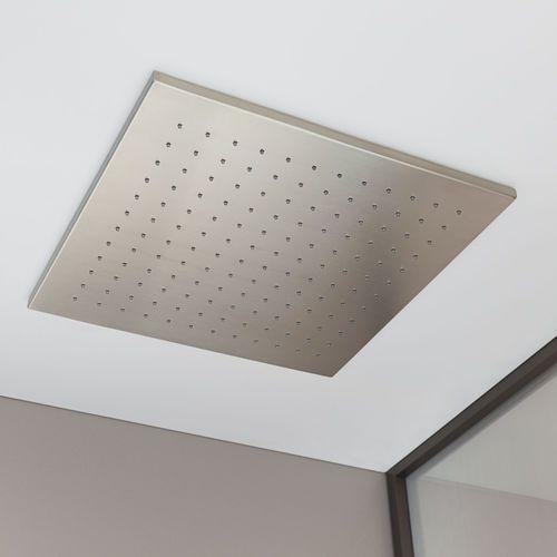 Recessed ceiling shower head / square / rain A5B9376 Armani / Roca