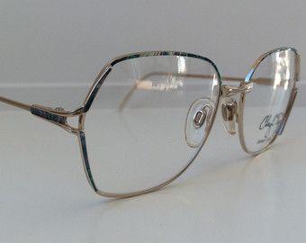 Marcos de gafas Vintage de gloria Vanderbilt Gafas de color