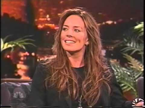 Krista Allen appearance on Carson show