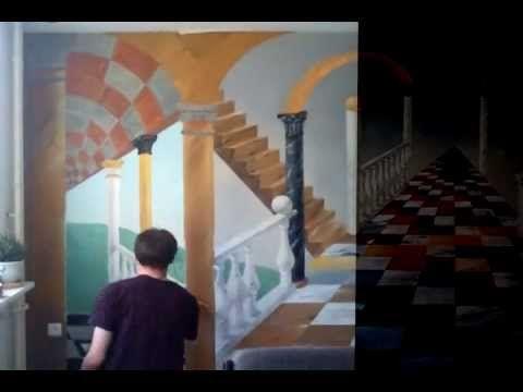 Художественная роспись стен в интерьере • stenOmir