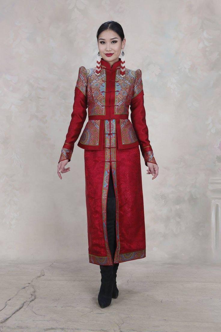 Тувинские платья картинки