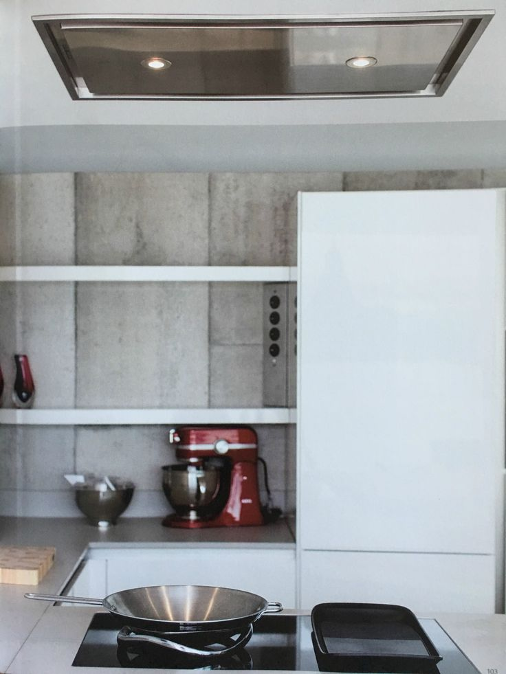 YOUR NEED IS OUR NORM Every client is unique and therefor we make products which can be applied to all your needs. This steel ceiling cooker hood seamlessly blends in every kitchen space and seems to not even be there. Available in stainless steel or color with LED as well as with halogen lighting. #cookerhood #steel #stainlesssteel #ceilingcookerhood #kitchen #kitchendesign #cooking #interior #lighting #LED #halogen #design #interiordesign #productdesign #wavefashionforkitchen