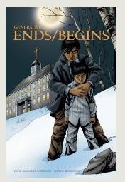 Graphic novel that tells the story of Canada's residential schools.