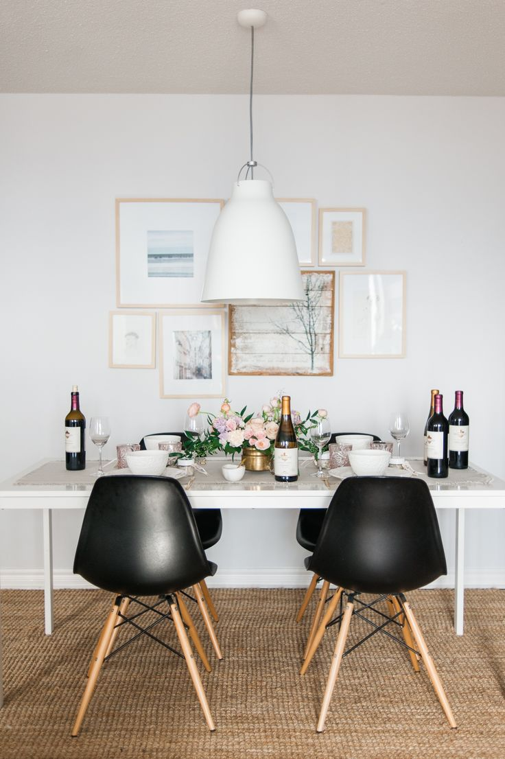 What better way to beat the post-holiday blues than with a simple, casual yet totally elegant dinner party for your nearest and dearest?