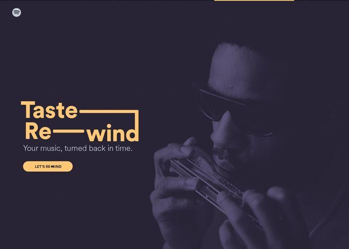 Taste Rewind | CSS Website