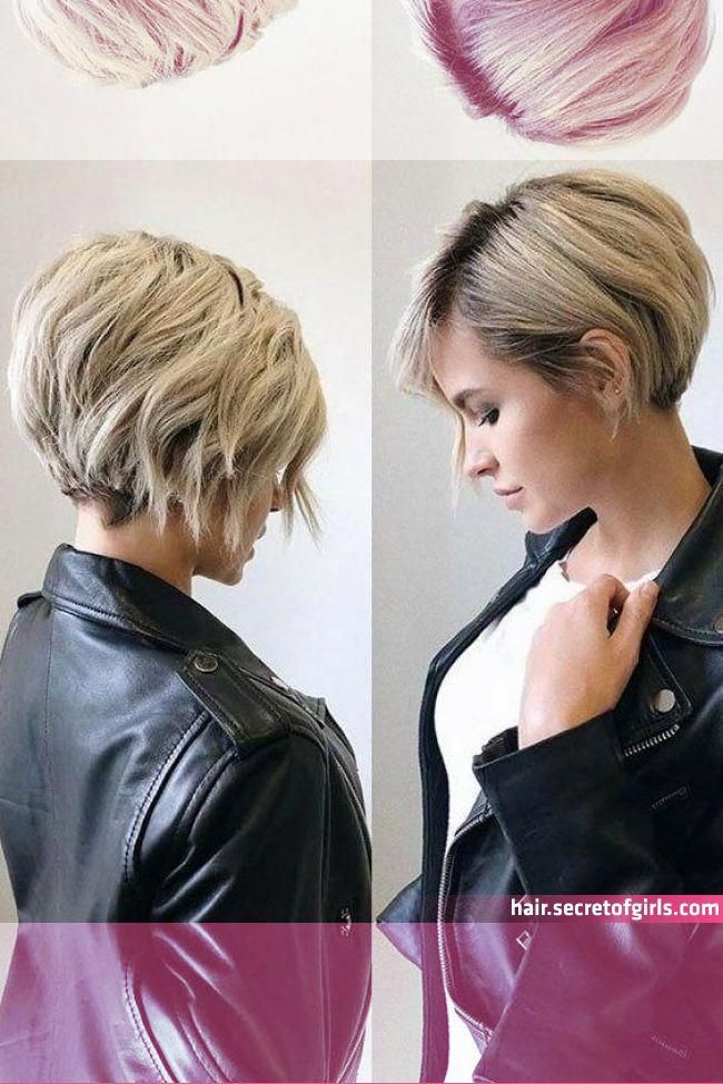 35 New Short Hairstyles For 2019 Pixie Bob Haircuts You Will Love Short Hairstyles For Thick Hair Short Bob Hairstyles Hair Di 2020 Rambut Pendek Rambut Wanita
