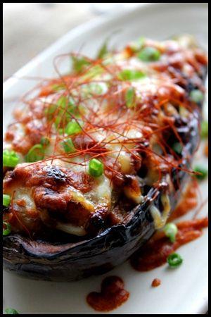 Eggplant gratin - 楽天レシピ: とろとろ~米ナスの肉味噌グラタン♪/グラタン/作者:山本リコピン