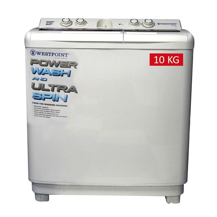 Buy Westpoint Twin Tub Semi Automatic Washing Machine WF ...