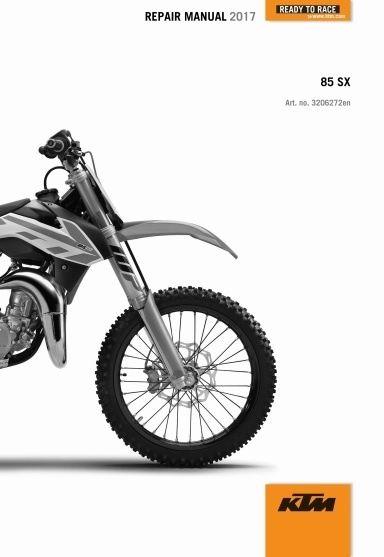 2017 KTM 85 SX Service Repair Manual.........For More Manuals Vist www.offroadservicepro.com
