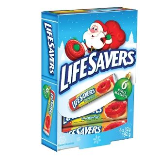 Lifesavers 5 Flavour Hard Candy Rolls Storybook