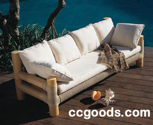 Bamboo and Rattan sofa