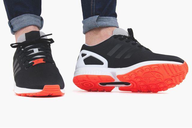 adidas original zx flux orange