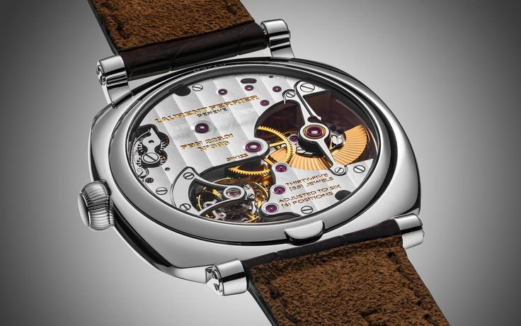 Still life photography of watches for high end watch brand Laurent Ferrier.