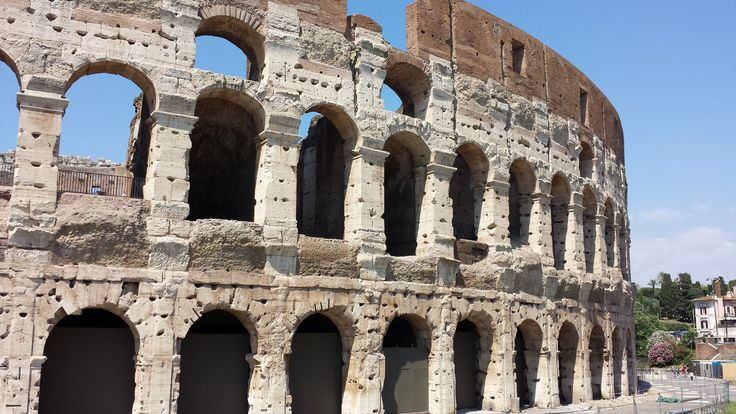 Rome, Italy - Colosseum - Mediterranean Cruise
