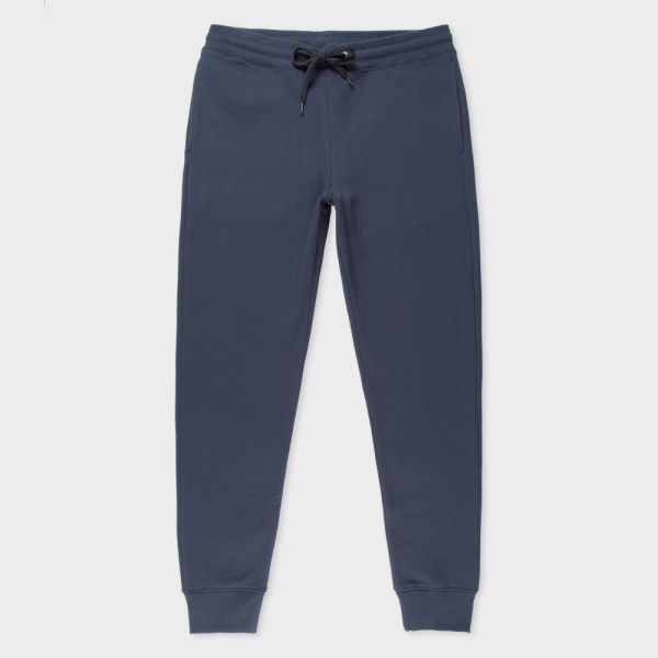 Men's Slate Blue Organic-Cotton Sweatpants