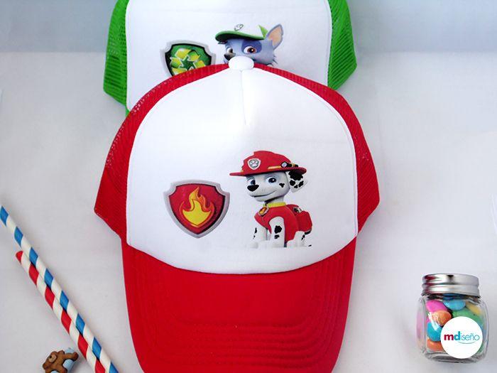 Gorras Paw Patrol Patrulla Canina Fiesta Paw Patrol Impresión Envío Ideas Decoración Paw Patrol Caps Marshall Artículos Personalizados Tabasco