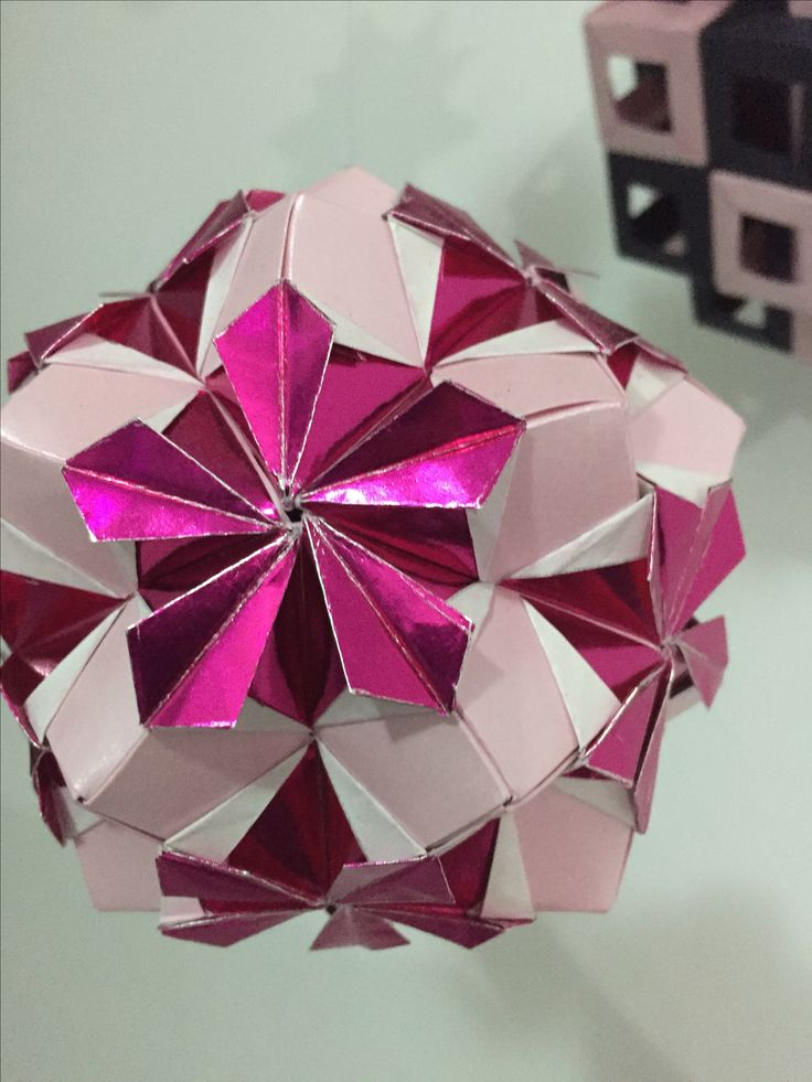 Kusudama Flower Periwinkle 30 units
