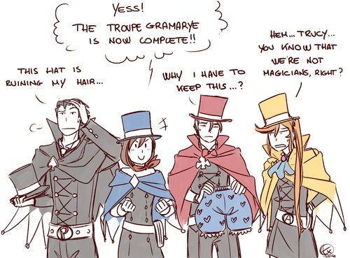 393 best OBJECTION!!  Layton and co images on Pinterest Phoenix - i have no objection