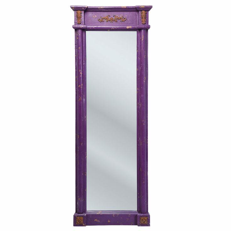 NEW! Penelope Purple Full Length Mirror Full Length Mirrors Mirrors & Screens French Bedroom Company