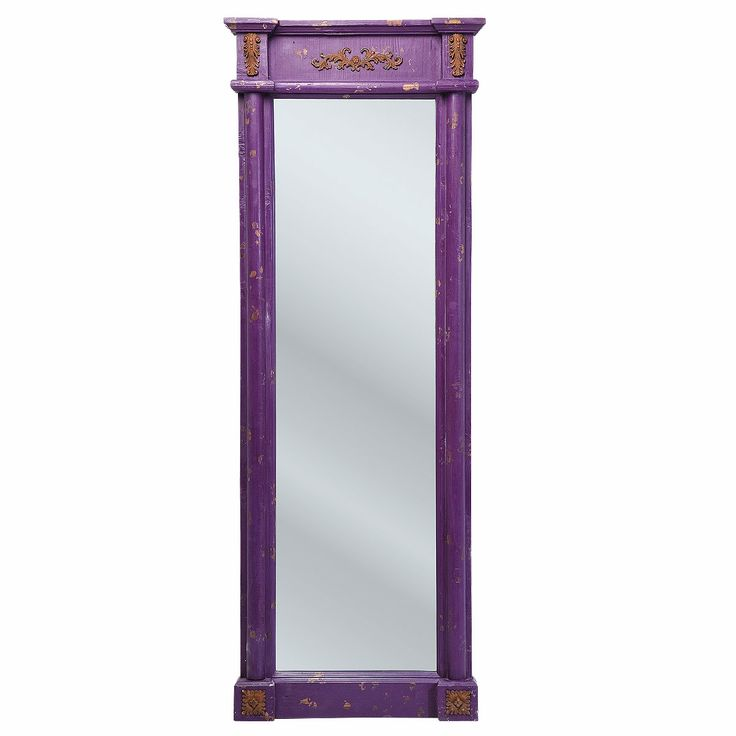 NEW! Penelope Purple Full Length Mirror  |  Full Length Mirrors  |  Mirrors & Screens  |  French Bedroom Company