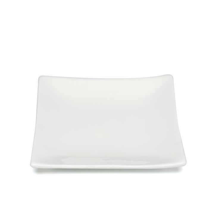 """Whittier Coupe 6"""" Square Plate (Set of 6)"""