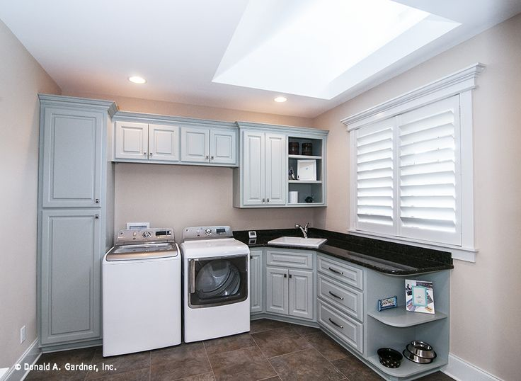 Family Studio (utility room) of the Sagecrest Home Floor Plan 1226