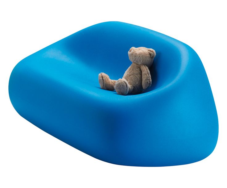 Divanetto in polietilene 3 posti Gunball Junior blu: in offerta su Dalani Home & Living