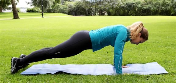 Med et tilpasset treningsprogram, vil både kondis og styrke forbedres