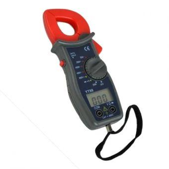 จัดส่งฟรี  YT98 ดิจิตอลแคลมป์มิเตอร์ คลิปแอมป์ (Red/Black)  ราคาเพียง  399 บาท  เท่านั้น คุณสมบัติ มีดังนี้ 3 1/2 LCD display, maximum reading 1999& Low battery indicator& Overload Protection& data retention easier reading& buzzer continuity&and diode testfunctions&