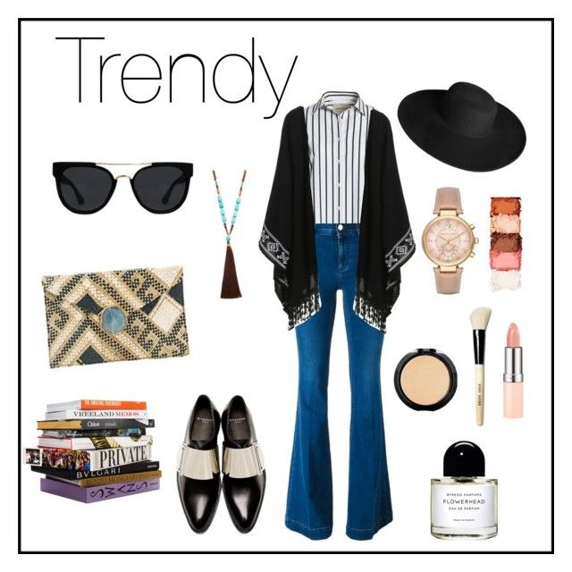Crativo Trendy by carlablasco on Polyvore featuring moda, Canvas by Lands' End, STELLA McCARTNEY, Givenchy, Kayu, Michael Kors, NAKAMOL, Dorfman Pacific, Quay and NYX