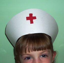 nurse hats headband | Instructions For Making Nurse Hat On A Head Band