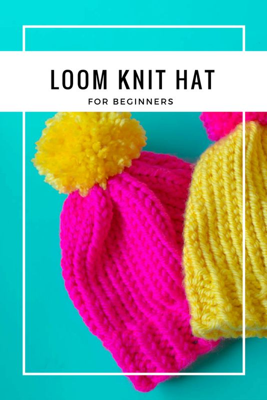 1000+ ideas about Loom Knit Hat on Pinterest Knit hat patterns, Crochet hat...