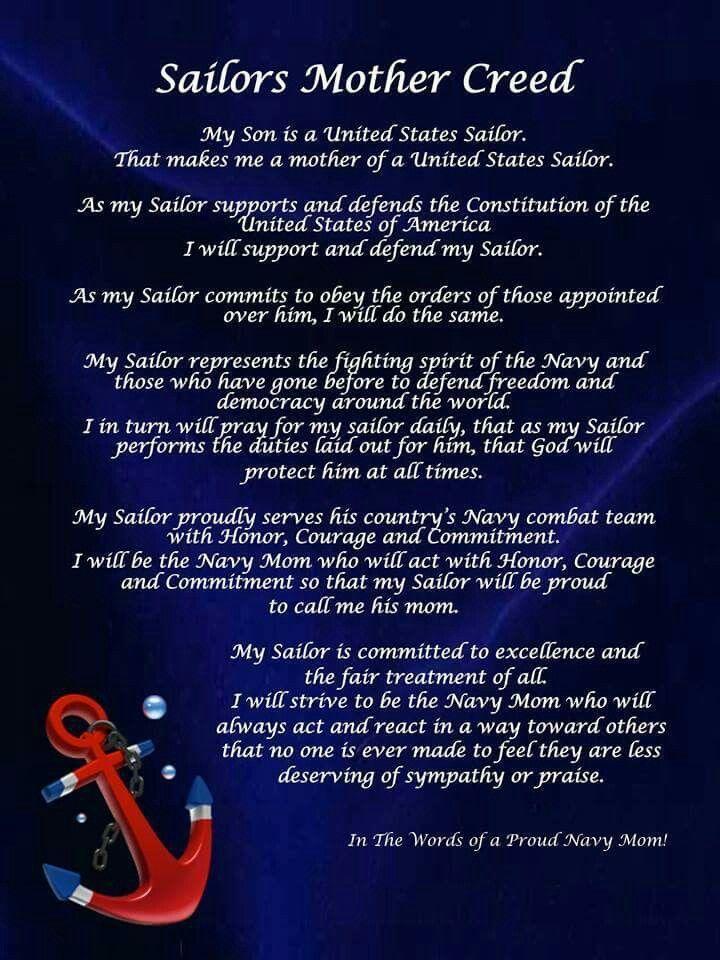 ...my daughter the sailor | Navy mom | Navy mom, Navy ...