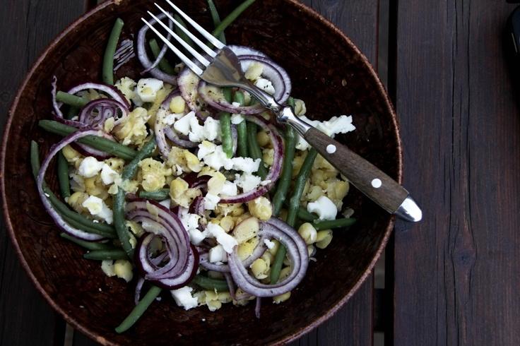 Green Bean and Yellow Pea Salad