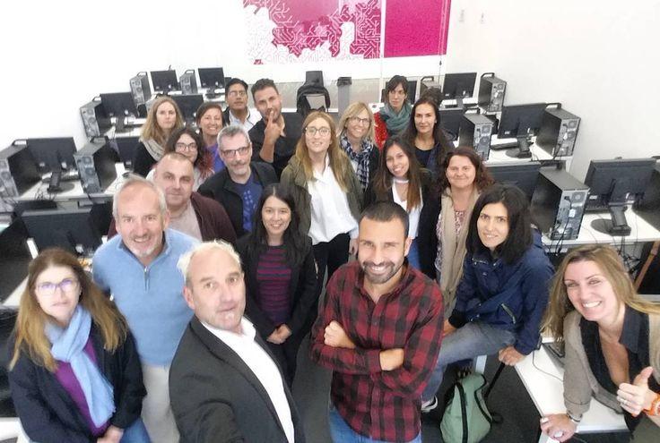 Sesión de Facebook Ads y foto de família   #Apps #advertising #barcelona #FacebookAds #formación #igers #publicidad