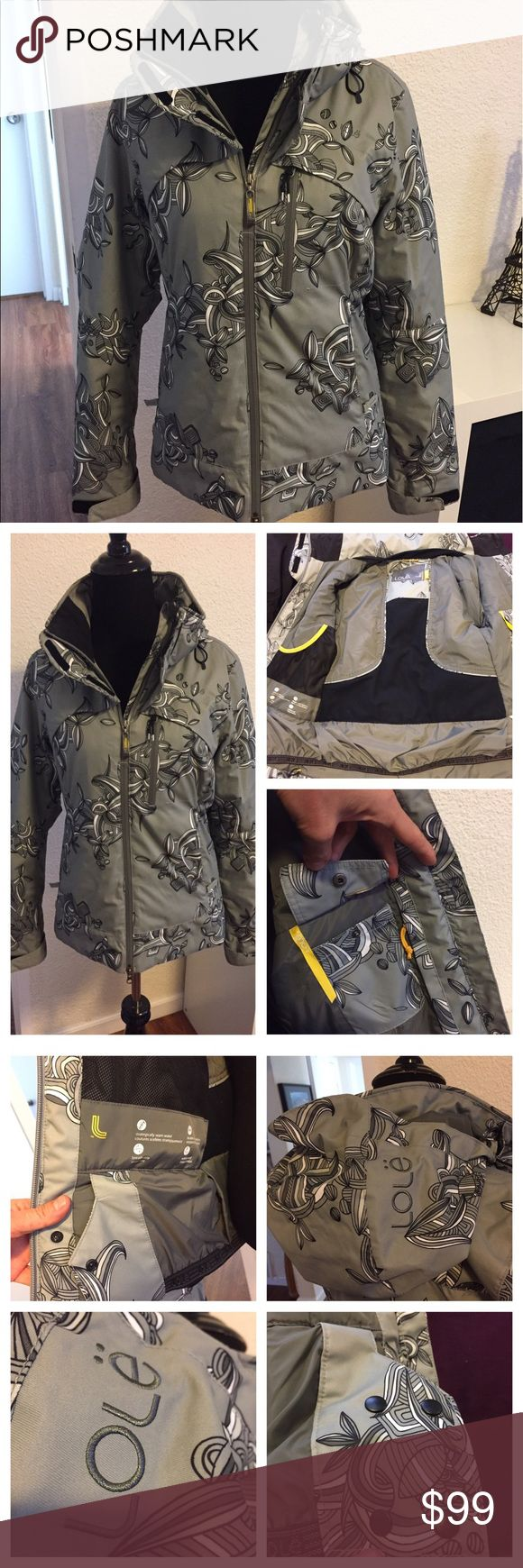 Lole Winter ski jacket. Use only one time. Great condition. Many pockets inside and outside. Lole Jackets & Coats Utility Jackets