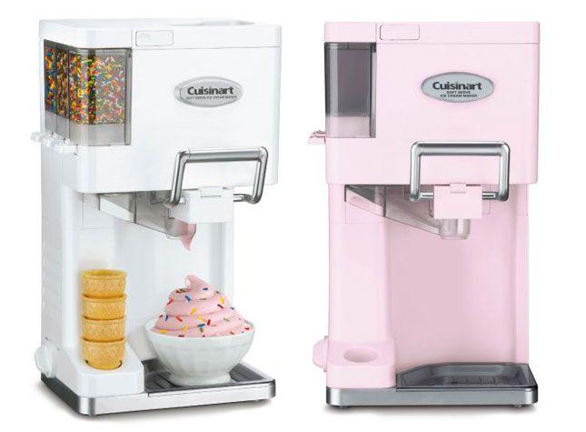 Counter Top Ice Cream Maker Recipes : soft serve ice cream maker pink cuisinart soft ice cream maker ...