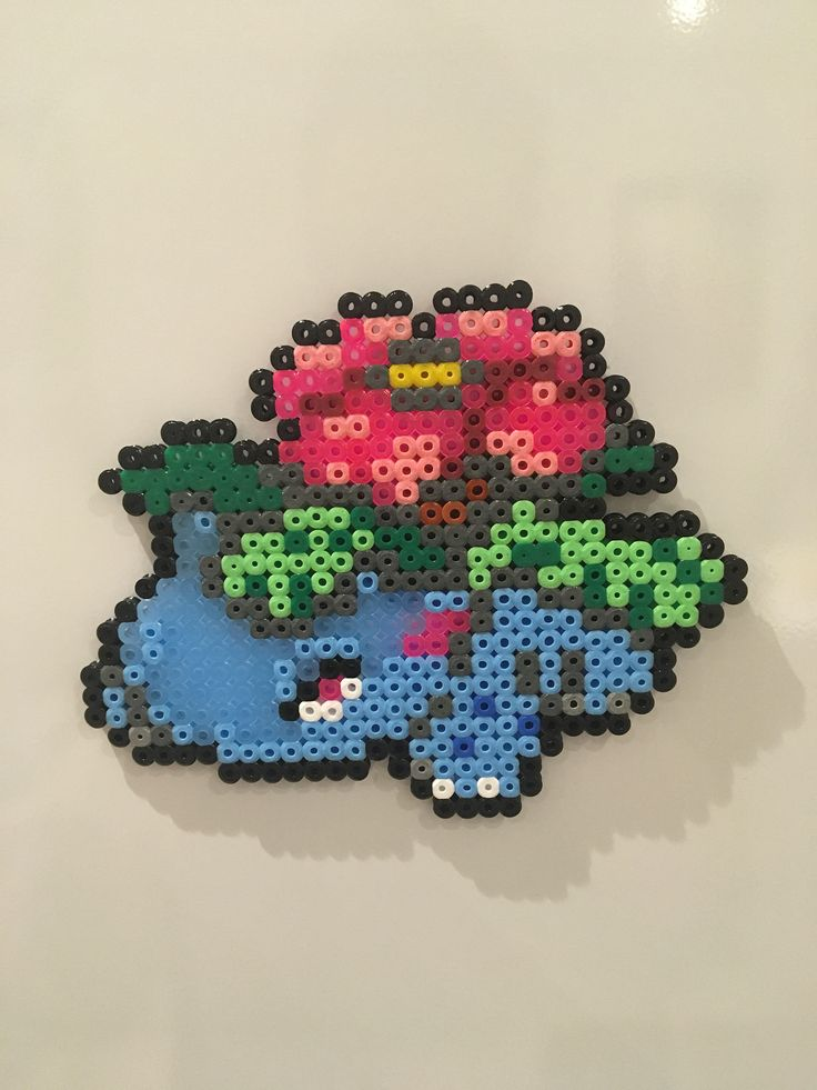 A personal favourite from my Etsy shop https://www.etsy.com/uk/listing/577824360/pokemon-venusaur-diy-magnet-or-keyring