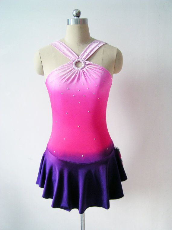 I LOVE THIS DRESS!!! <3  Custom Figure Skating Competition Dress  'Lola' by UnionBeautiful