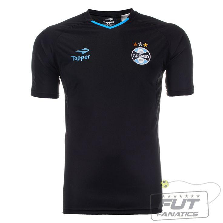 Camiseta Topper Grêmio Viagem Atleta 2012